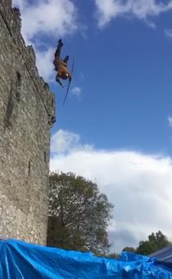 Dunran Castle fall - Vikings