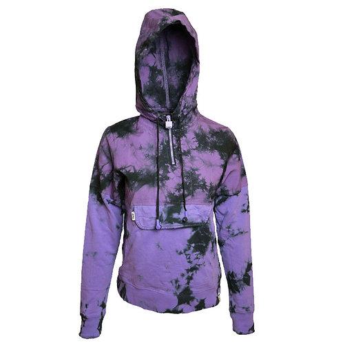 SoundStitch™ Zip-Up Hoodie w/ Sleeve Note, Purple