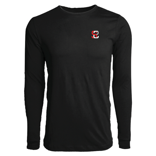 SoundStitch™ Men's Classic Long Sleeve Tee, Black