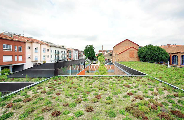 arquitectura-eco-friendly, cubierta vegetal, Manuel Pinilla
