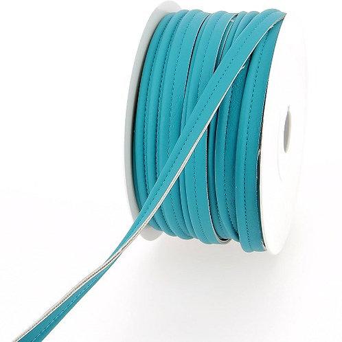 Passepoil simili turquoise 10 mm