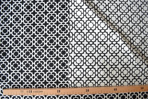 Ronds noirs et blancs réversible