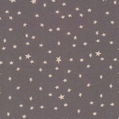Shabby chic étoiles beiges sur fond gris