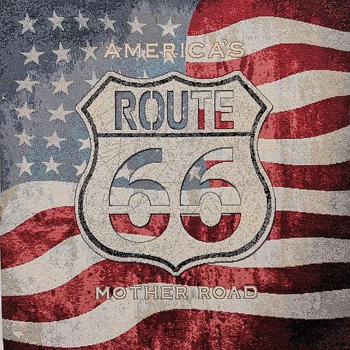Route 66 drapeau
