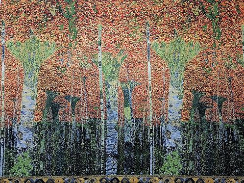 Coordonné pour panneau de Klimt