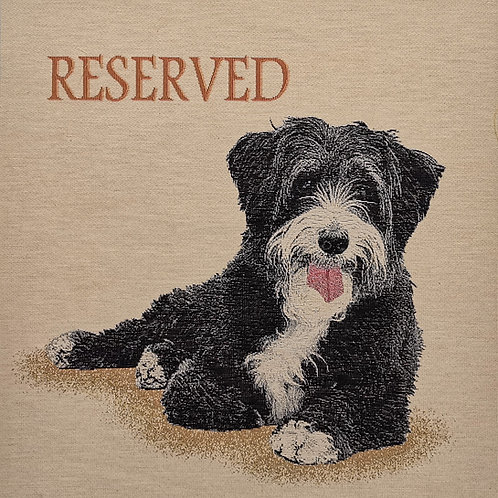 chien reserved