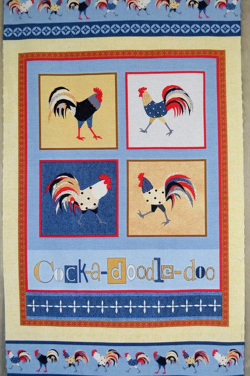 Coqs stylisés