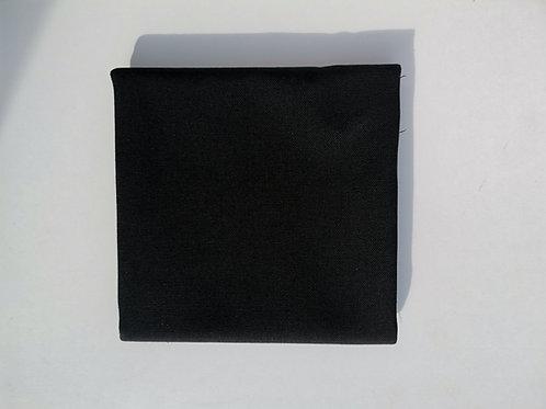Doublure coton ameublement noire