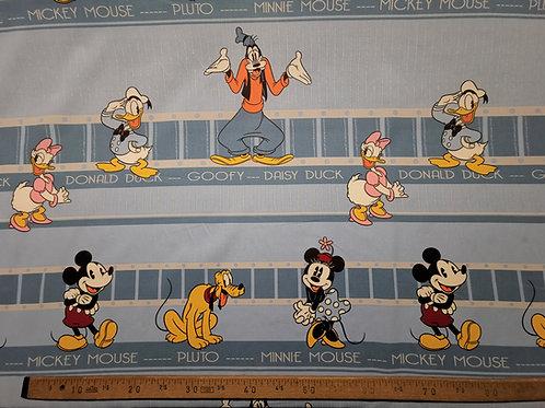 Mickey,Minnie , Daisy , Donald, Pluto , Gooffy bande