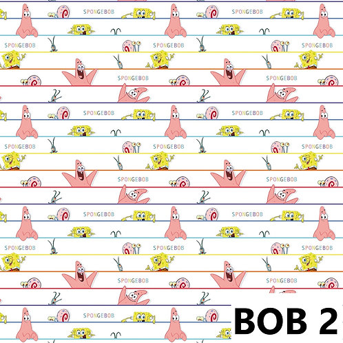 Bob l'éponge rayures