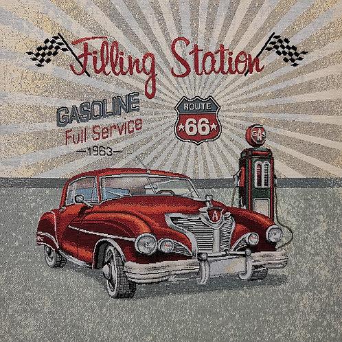 Filling station gasoline