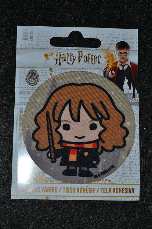 Écusson HP Hermione et baguette