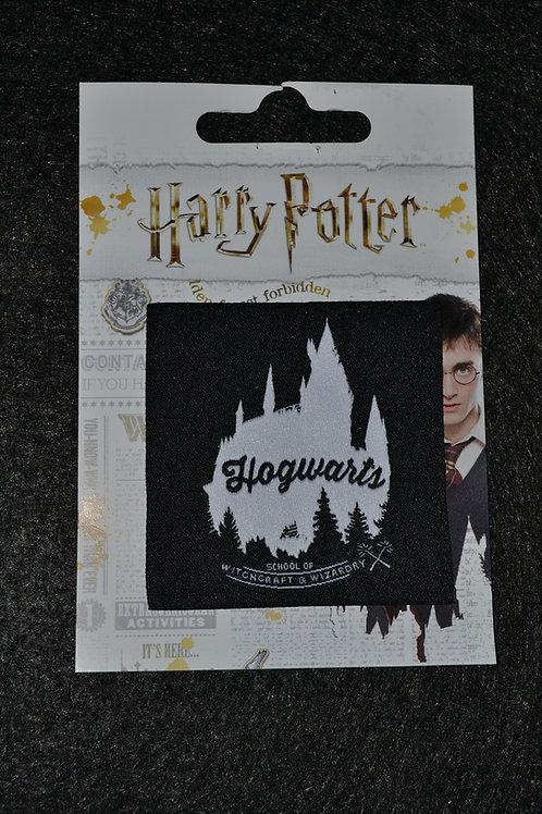 Écusson HP Hogwarts reflets