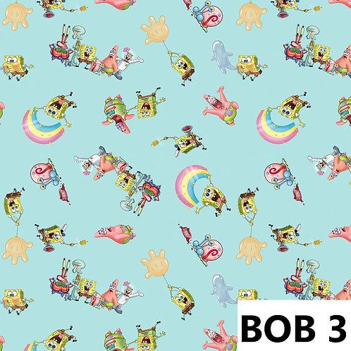 Bob l éponge fond bleu