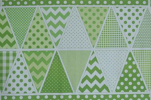 Banderoles vertes à monter
