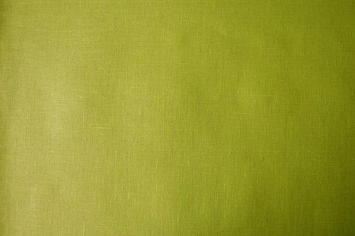 Lin enduit vert anis
