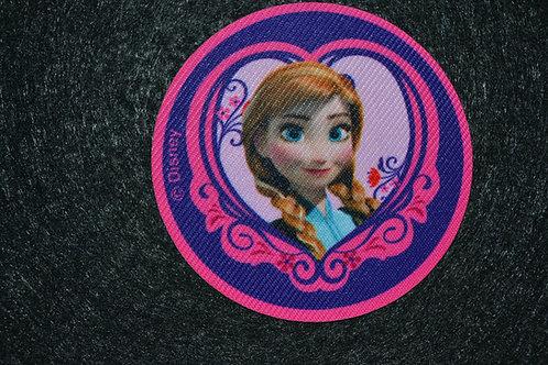 Écusson Reine des neiges Anna 2