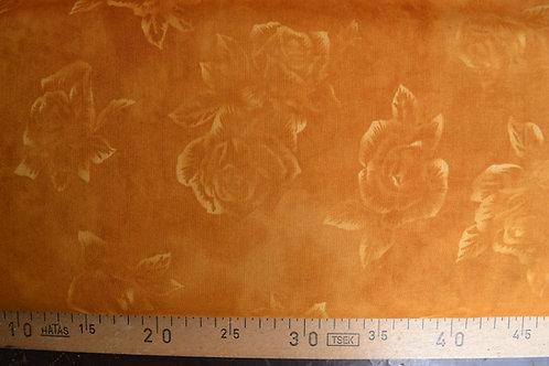 Roses en faux unis ocre