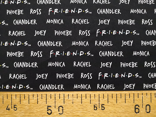 Friends Chandler, Rachel, Monica ,Joey, Ross