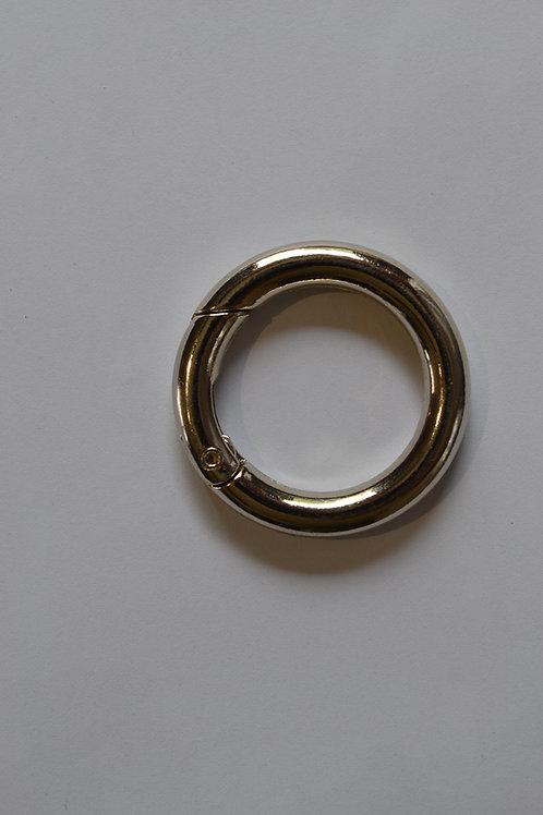 mousqueton anneau argent ouvrable 2.5 mm