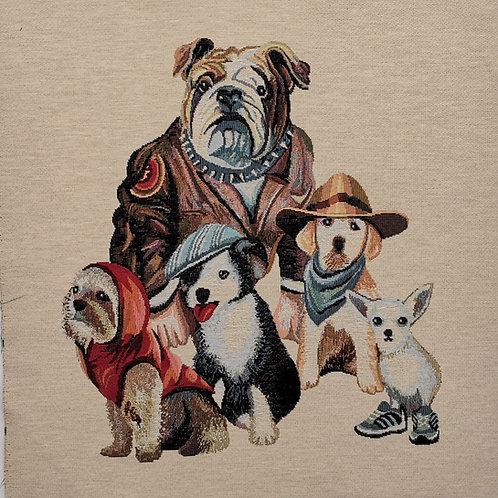 Carré - Bande de chiens