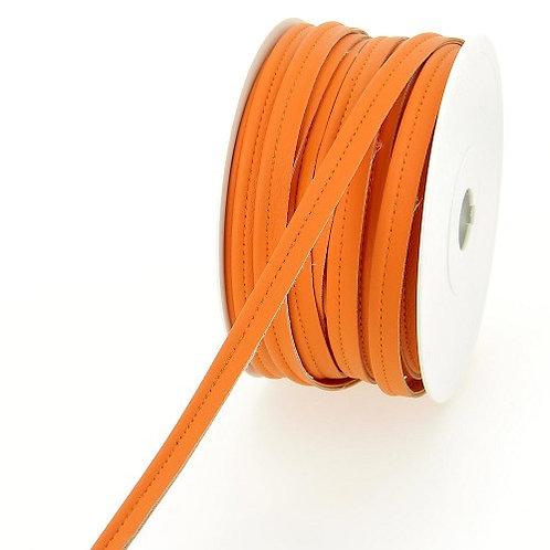 Passepoil simili orange en10 mm