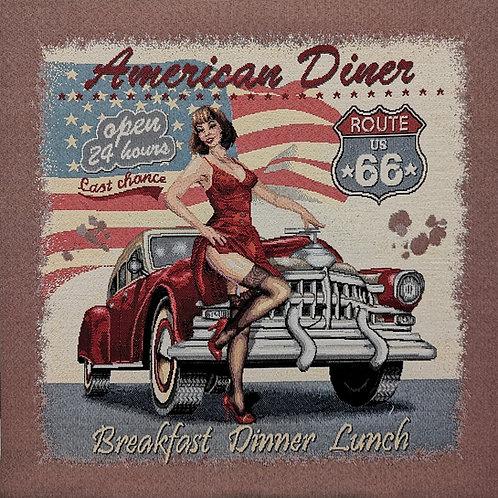 Carré - American diner vintage