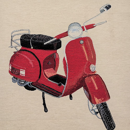 Scooter rouge