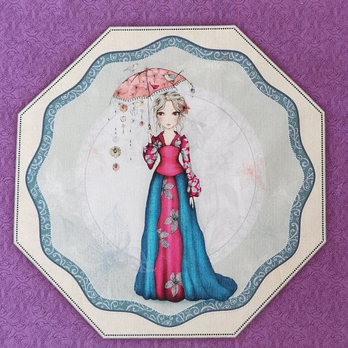 Mirabella et son ombrelle