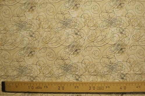 Coordonnées de la rose des vents lignes noires sur fond beige