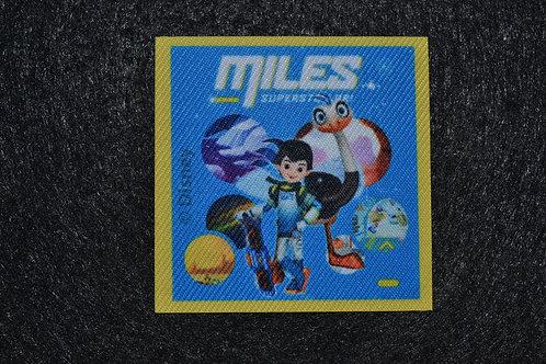 Écusson Miles