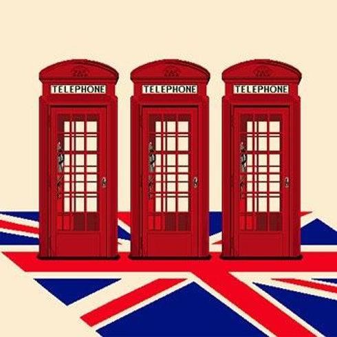 Carré - Cabines téléphoniques British