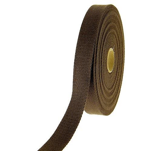 Sangle coton Kaki 40 mm vendu par métre