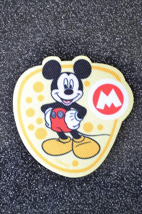 Mickey fond jaune