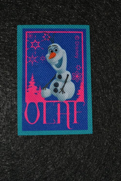 Écusson Reine des neiges Olaf 2