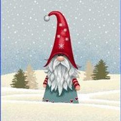 Gnome chapeau pointu rouge
