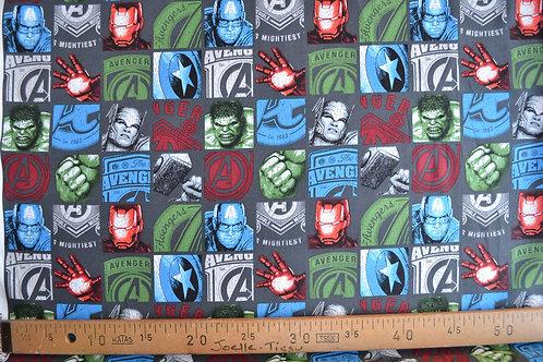 Avengers dans les carrés