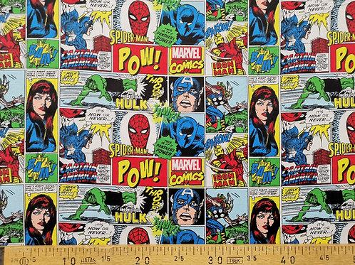 Marvel Comics en flanelle
