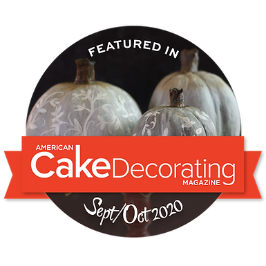 Featured in American Cake Decorating Sept/Oct. 2020