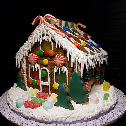 December 11, 2020  5:30pm Gingerbread House Workshop