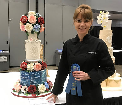 ICES 2019 Julia Fedorova Wedding Cake co