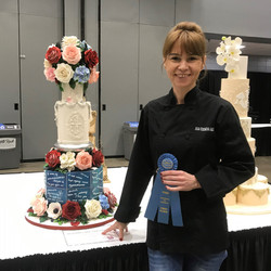 ICES 2019 Julia Fedorova Wedding Cake