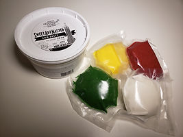 Gum paste sweet art master Red, Yellow,