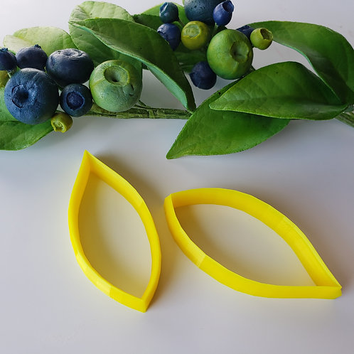 Blueberry leaf cutters set of two 550c1, 550c2