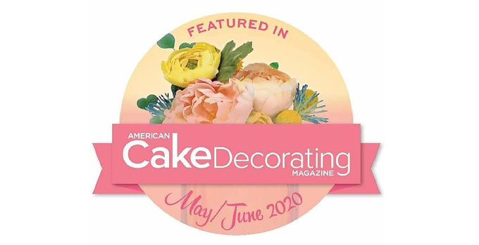 Featured in American Cake Decorating May/June 2020
