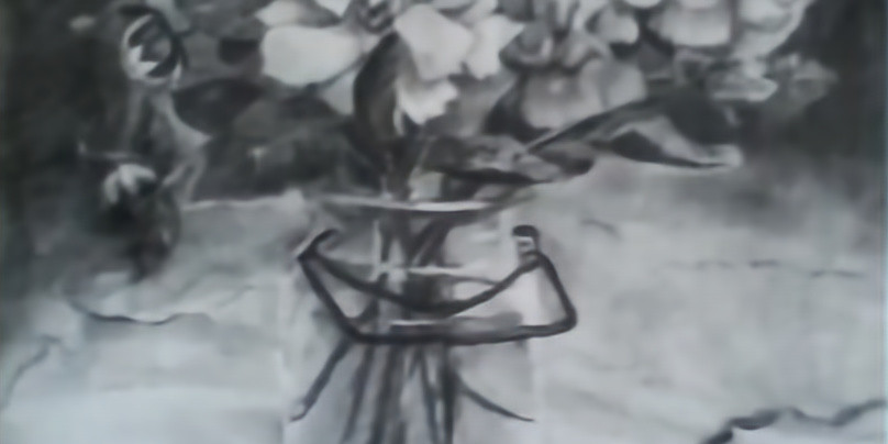 Charcoal drawing with established Christian artist, Deacon Mary Wiley Lewis