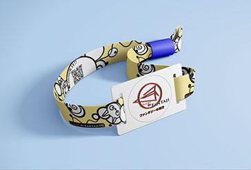 Wristband mock up