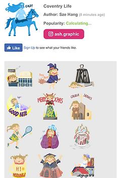Customised free WhatsApp stickers