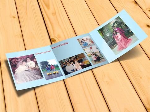 Photo album mock up