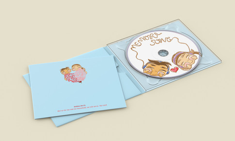 CD inside mock up